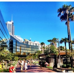 Photo taken at Darling Quarter by 高手놀리밑™ on 2/15/2012