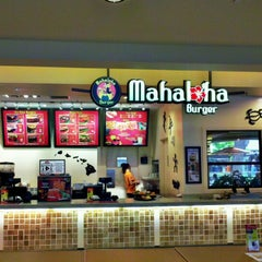 Photo taken at Mahaloha Burger by Stephen C. on 9/5/2012