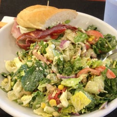 Photo taken at The Big Salad by Seema D. on 3/24/2012