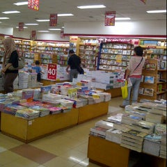 Photo taken at Gramedia by Djony H. on 6/2/2012