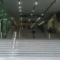 Photo taken at Cannon Street Railway Station (CST) by Vinay S. on 5/12/2012