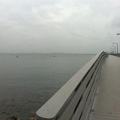 Photo taken at Ballast Point Park by Briana F. on 6/7/2012