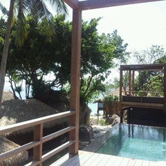 Photo taken at Haad Tien Beach Resort by Stephan S. on 2/26/2012