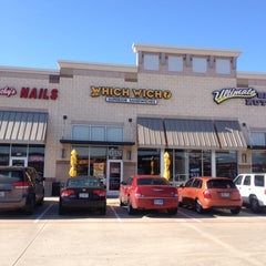 Photo taken at Which Wich? Superior Sandwiches by Juan M K. on 2/11/2012