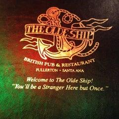 Photo taken at The Olde Ship by Jennifer W. on 3/17/2012