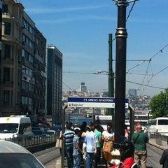 Photo taken at Sirkeci Tramvay Durağı by Bünyamin G. on 6/5/2012