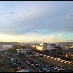 Photo taken at Boeing Field/King County International Airport (BFI) by Røb-NX7N on 4/12/2012