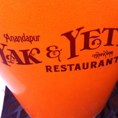 Photo taken at Yak & Yeti Local Foods Cafe by Cam on 3/13/2012