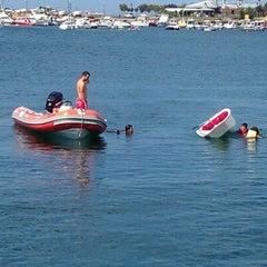 Photo taken at Dragos Marina by Duygu C. on 8/29/2012