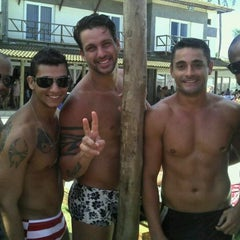 Photo taken at Paparazzi Beach Club by David D. on 2/5/2012