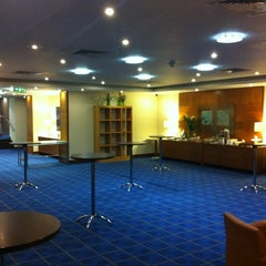 Photo taken at Park Inn by Radisson Hotel and Conference Centre London Heathrow by Kristoffer S. on 6/12/2012