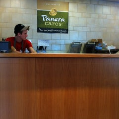 Photo taken at Panera Cares - A Community Cafe by Emily B. on 3/25/2012