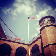 Photo taken at Fort Point National Historic Site by Shannon Z. on 4/1/2012