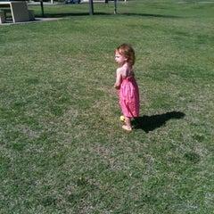 Photo taken at Optimist Park by WOLFEAGLE I. on 5/3/2012
