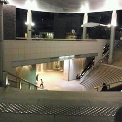 Photo taken at 用賀駅 (Yoga Sta.) by cazooya on 2/20/2012