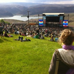 Photo taken at The Gorge Amphitheatre by Nate S. on 5/27/2012