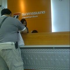 Photo taken at ธนาคารธนชาต (Thanachart Bank) by Krongthong H. on 9/8/2012