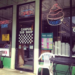 Photo taken at Campus Sub Shop by Justin K. on 4/29/2012