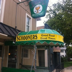Photo taken at Schooners by Brian D. on 9/5/2012