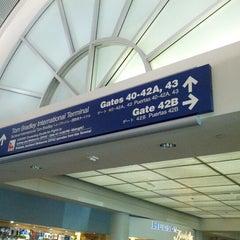 Photo taken at Terminal 4 by David T. on 9/1/2012