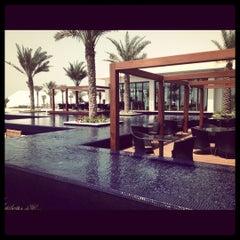 Photo taken at The St. Regis Saadiyat Island Resort by Maryam A. on 7/13/2012