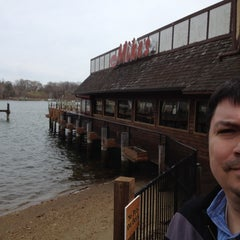 Photo taken at Mike's Crabhouse by Dan E. on 3/9/2012
