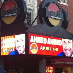Photo taken at Laugh Factory by Angie E. on 4/5/2012
