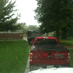 Photo taken at Tecumseh Park by Thomas D. on 8/10/2012