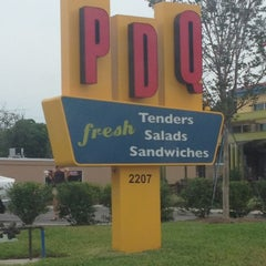 Photo taken at PDQ Tenders Salads & Sandwiches by Mucci P. on 5/14/2012