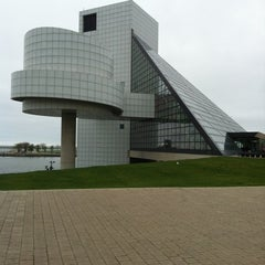 Photo taken at The Rock and Roll Hall of Fame and Museum by Kathy J. on 4/21/2012