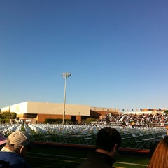 Photo taken at Naperville North High School by Justin S. on 5/21/2012