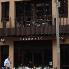 Photo taken at Landmarc by NYC Sidewalker on 4/18/2012