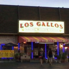 Photo taken at Los Gallos Mexican Restaurant by Allen B. on 8/13/2012