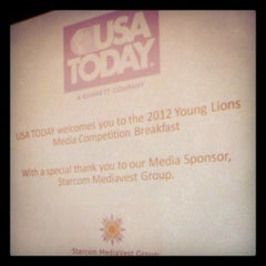 Photo taken at USA Today by Suzy R. on 4/26/2012