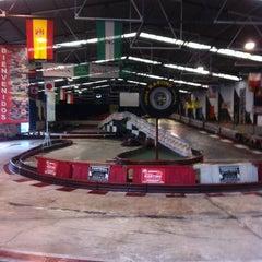 Photo taken at Fórmula Karting Granada by JOSE Q. on 4/29/2012