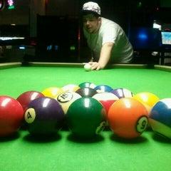 Photo taken at Hi-Tech Billiards by Nicole F. on 2/25/2012