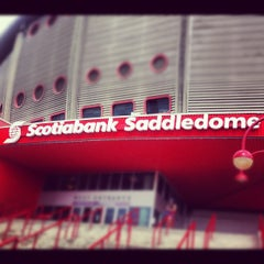 Photo taken at Scotiabank Saddledome by Hery H. on 7/13/2012