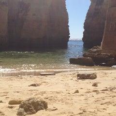 Photo taken at Praia da Batata by Davi on 8/29/2012