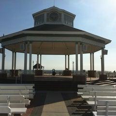 Photo taken at Rehoboth Beach Bandstand by Gardner G. on 3/29/2012