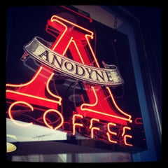Photo taken at Anodyne Coffee Roasting Co by Andy P. on 3/17/2012