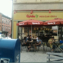 Photo taken at Qdoba Mexican Grill by Vaughneva W. on 5/30/2012