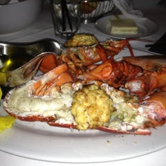 Photo taken at Dominick's Steakhouse by Hadiatu D. on 9/8/2012