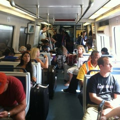 Photo taken at MARTA - Airport Station by Reggie C. on 7/27/2012