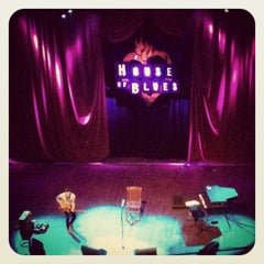 Photo taken at House of Blues by Charles W. on 8/30/2012