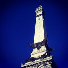 Photo taken at Soldiers & Sailors Monument by André Z. on 8/26/2012