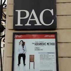 Photo taken at PAC - Padiglione d'Arte Contemporanea by Stefania C. on 3/19/2012