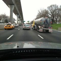 Photo taken at Van Wyck Expressway (I-678) by Eve Y. on 3/23/2012