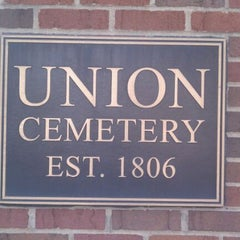 Photo taken at Union Cemetery by Jason S. on 3/18/2012
