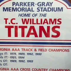 Photo taken at T.C. Williams High School by Scott J. on 8/30/2012