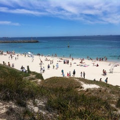 Photo taken at Cottesloe Beach by Andrew P. on 3/3/2012